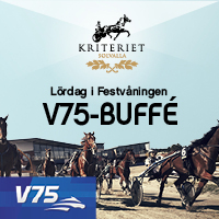 V75 Buffé Solvallas Festvåning 30 sep