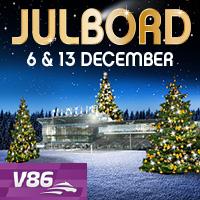 Julbord Valla Krog V86 -  6 och 13 december
