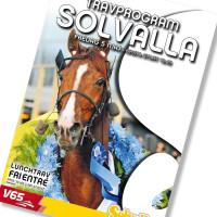Solvalla banprogram 5 Maj 2017