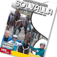 Solvalla banprogram 12 Maj 2017