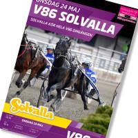 Solvalla banprogram 24 Maj 2017