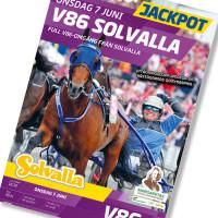 Solvalla banprogram 7 Juni 2017