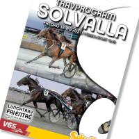 Solvalla banprogram 18 Augusti 2017