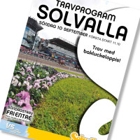 Solvalla banprogram 10 September 2017