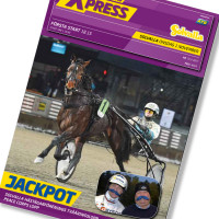 Solvalla banprogram 1 November 2017