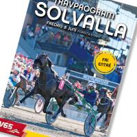 Solvalla banprogram 8 Juni 2018