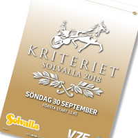 Solvalla banprogram 30 September 2018